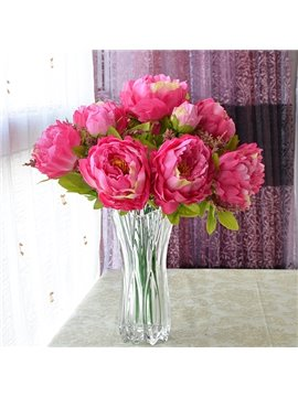 Gorgeous Home Decoration Peony Artificial Flower