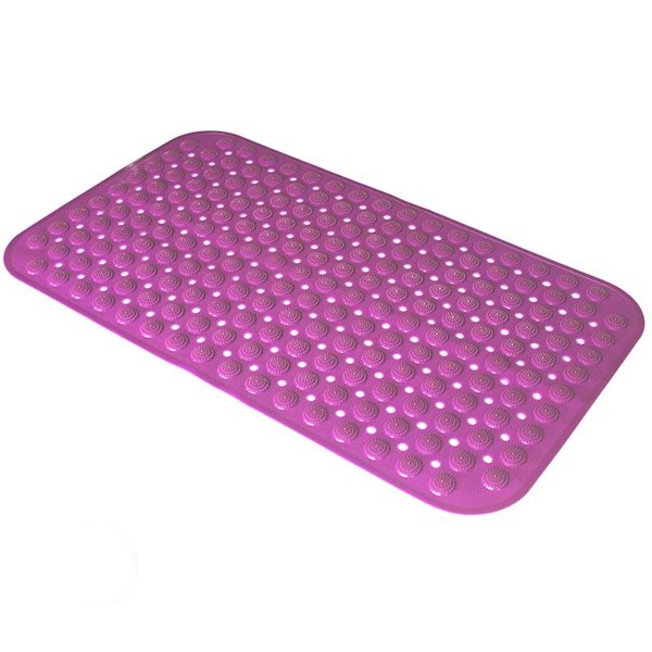 Concise Design Solid Color Waterproof Bath Mat