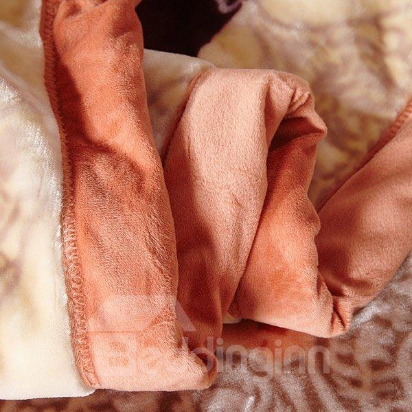 High Quality Super Warm Jacquard Design Blanket