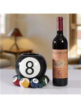 Creative Billiards Balls Design Resin Wine Rack