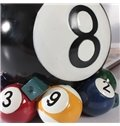Creative Billiards Balls Design Resin Wine Rack