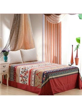 Luxury European Jacquard Style Cotton Printed Sheet