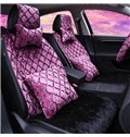 Vogue Style Grid Pattern Design Vibrant Colors Universal Fit Car Seat Cover