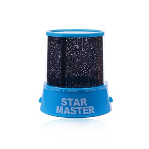 Blue Moon and Stars Projector LED Lights