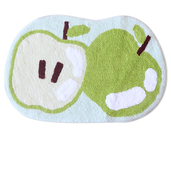 New Style Lovely Fruits Print Bath Rug