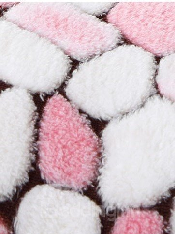 Lovely Pink Bear Warm&Soft Coral Fleece Baby Sleeping Bag