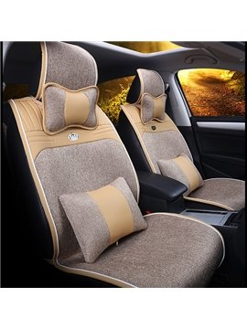 Concise and Durable Economic Pure Colored Universal Fit Car Seat Cover