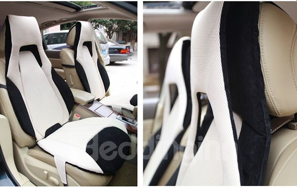 Unique and Styling Spaceship Designed Dual Colored Universal Fit Car Seat Cover