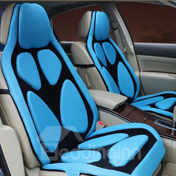 Futuristic Design Comfortable Anti-Slipping Patterns Universal Fit Car Seat Cover