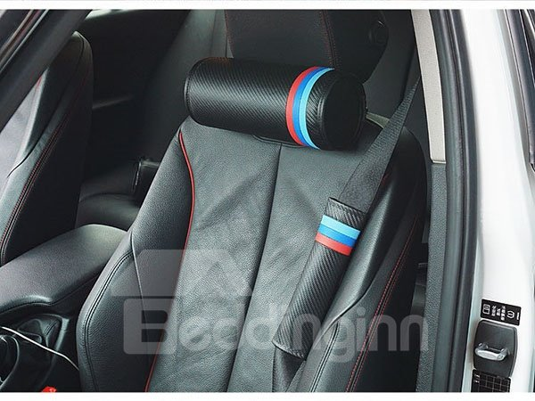 Durable PU Leather Material Attractive Car Seat Belt Cover
