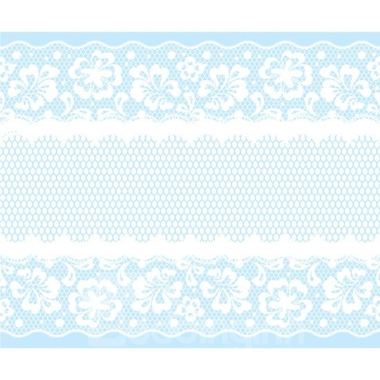 Creative Window Glass Lace Removable Sticker