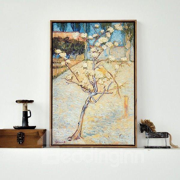 Wonderful Replica Art Van Gogh 1-Panel Framed Wall Art Print