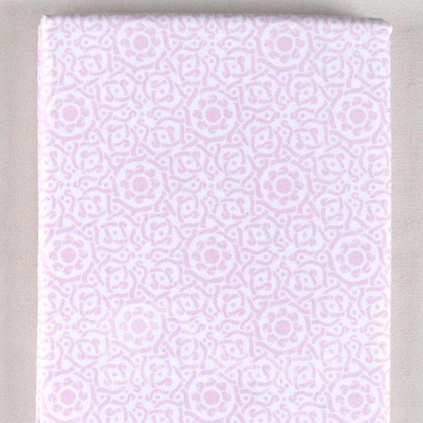100% Cotton Elegant Solid Pink Baby Crib Sheet