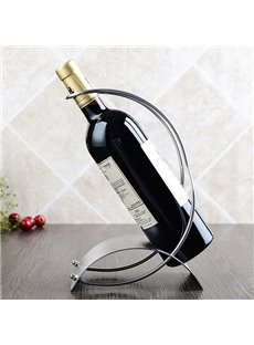Modern Simple Stainless Steel Wine Rack