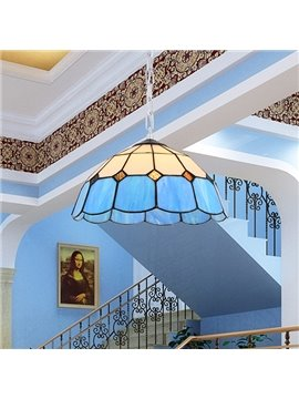Wonderful Tiffany Mediterranean Style 1-Light Pendant Light