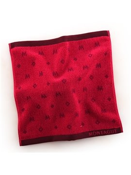 Modern Fashion Soft 100% Cotton Square Towel