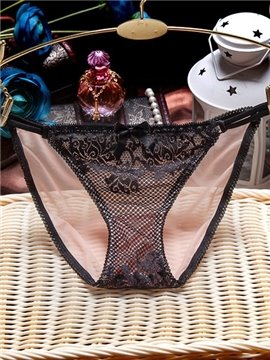 Sexy Lace Design Comfy Low Waist Panty
