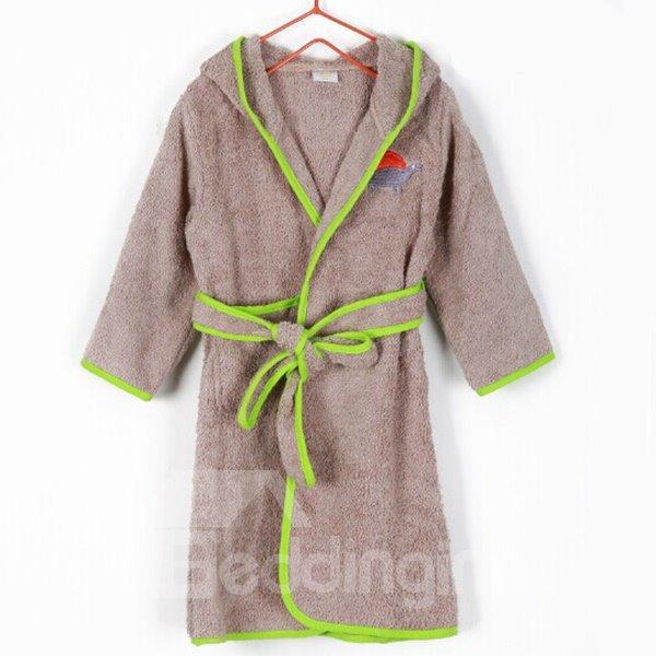 Soft and Comfy Purified Cotton Kids Bath Robe