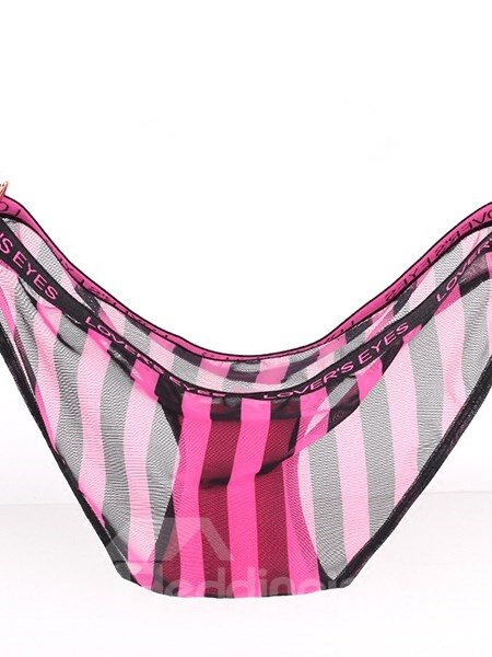 Unique Perspective Design Stripes Pattern Girl