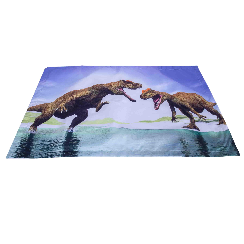 3D Dinosaur Digital Printing 5-Piece Tencel Comforter Sets
