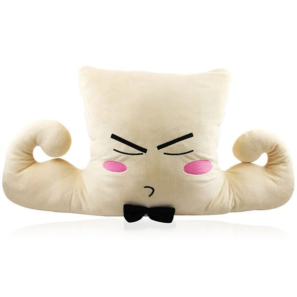 Creative Strong Muscle Boyfriend Plush Throw Pillow