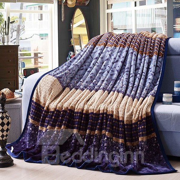 Concise European Style Anti-Pilling Blanket for All Seasons