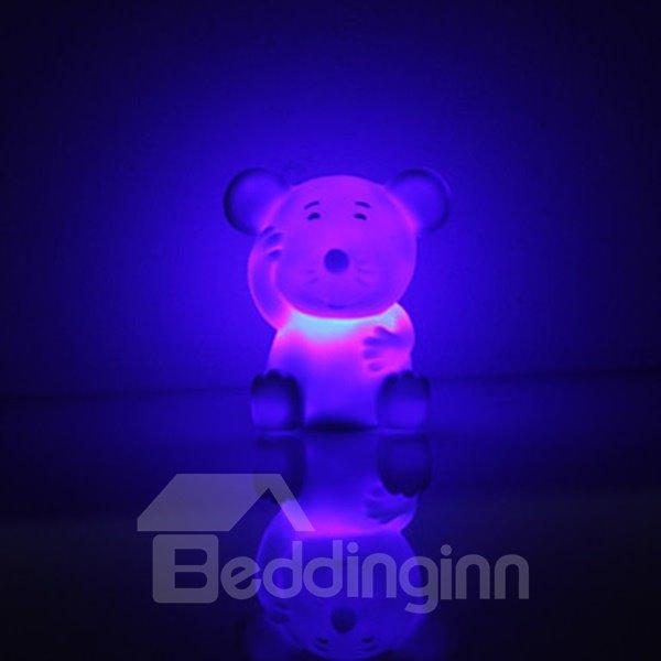 Cute Mouse Shaped Colorful Light LED Night Lamp (3xLR44)