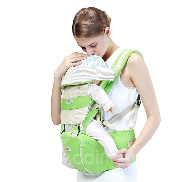 Trendy Color-Joint 3 in 1 Multi-Functional Baby Carrier