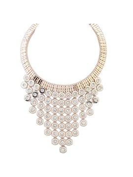 Women' s Fancy Rhinestone Pendant Necklace