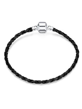 Women's Fashion Black Knitting Fabric Bracelet