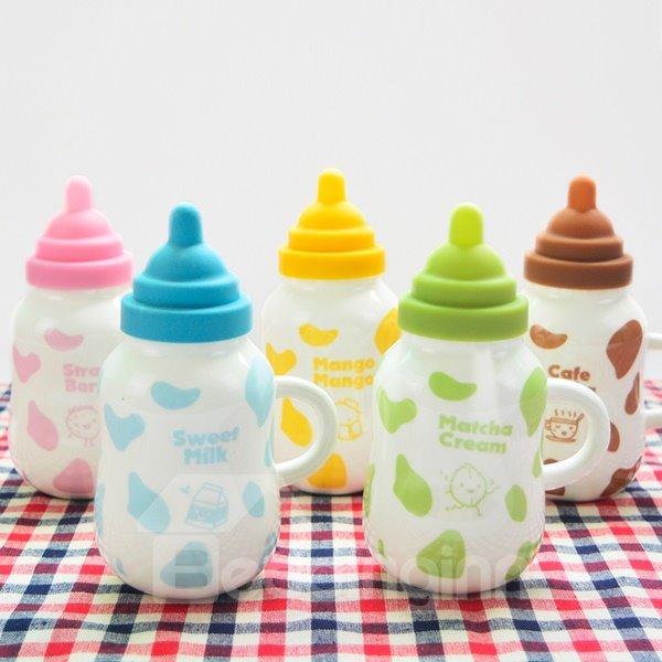 Creative Cute Cartoon Nipple Milk Cup Design Ceramic Milk Cup