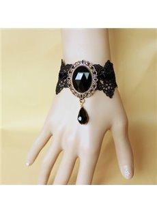 Women' s Fabulous Crystal Pendant Wrap Bracelet