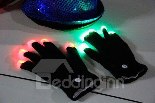New Style Super Cool LED lighting Novelty Gloves