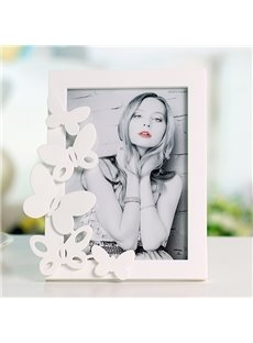 Wonderful Butterfly Decoration Plastic Desktop Photo Frame