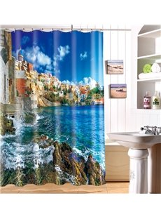 New Arrival Magnificent Print 3D Shower Curtain