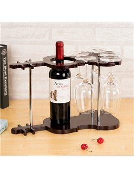 Fantastic Violin Design 1-Bottle Wine Rack & Bottle Holders