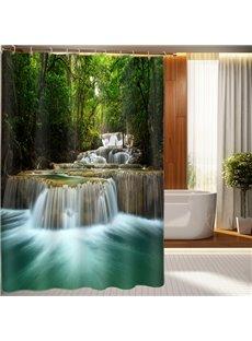 Stylish Design Fabulous Waterfall 3D Shower Curtain
