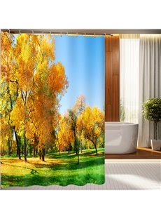 Fabulous Idyllic Autumnal Scenery 3D Shower Curtain