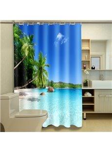 High Class Unique Beautiful Harbor 3D Shower Curtain