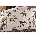 New Style Chic Cartoon Elk Pattern 4-Piece Duvet Cover Sets