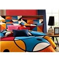 Modern Style Abstract Pattern 4-Piece Duvet Cover Sets
