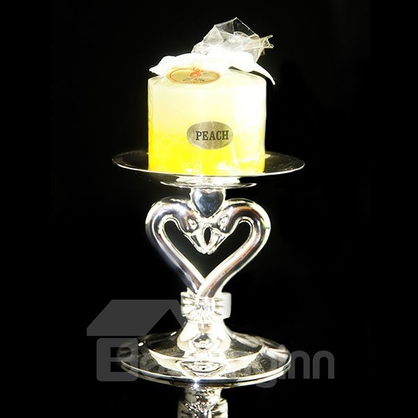 Wonderful Romantic Glass Swan Design Candle Holder