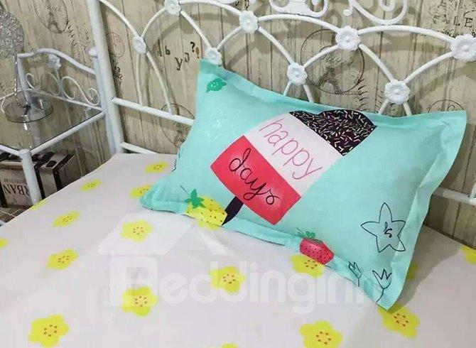 Graceful Fresh Princess Style 4-Piece Cotton Duvet Cover Sets