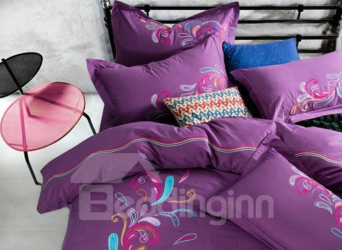 Full Cotton Super Cozy 4-Piece Duvet Cover Sets