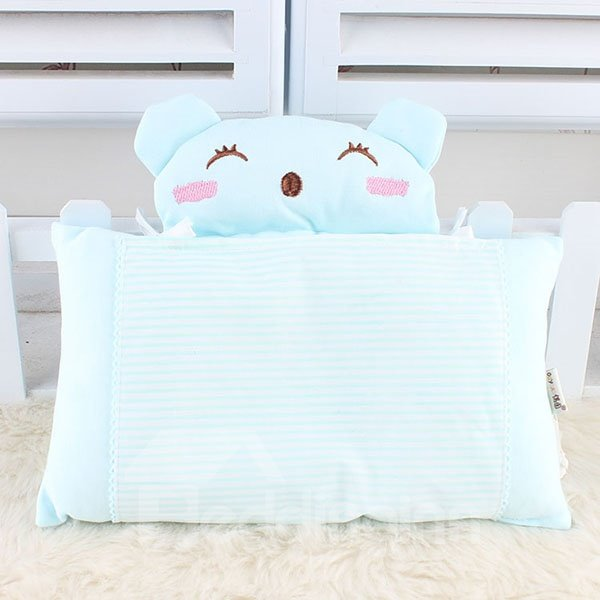 Smiling Bear Design Ultra Soft Baby Pillow