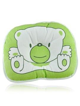 Lovely Bear Design Prevent Flat Head Baby Pillow