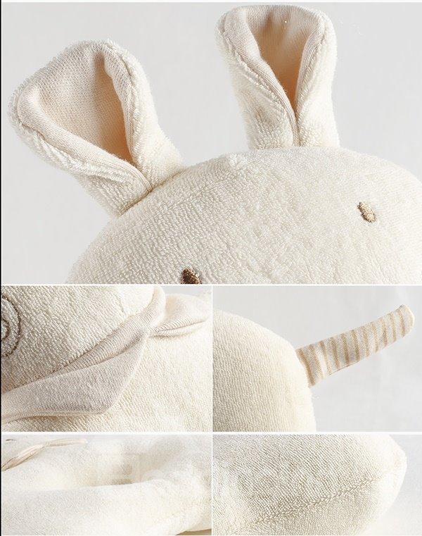 Rabbit Design Prevent Baby Flat Head Pillow