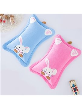 Classic Design Super Cute Rabbit Print Baby Pillow