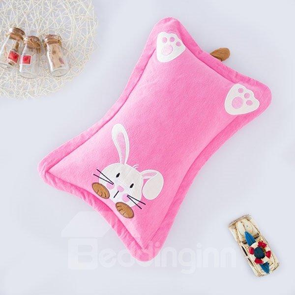 Classic Design Super Cute Rabbit Print Baby Pillow
