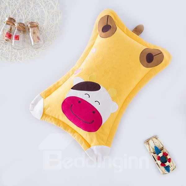 Classic Design Super Cute Cow Print Baby Pillow